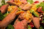 British Flank Steak Orange Salad Appetizer