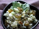 American Fruit and Nut Rice Pilaf Dinner