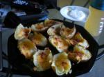 American Top Secret Recipes Version of Tgi Fridays Potato Skins Appetizer
