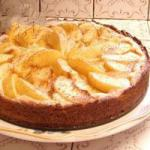 American Faster and Easier Peach Cake Dessert