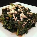 American Kale with Caramelized Onions Appetizer