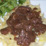Carne Asado mexican Style Beef Tips and Gravy recipe