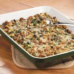 American Sausage Spinach Bake Appetizer