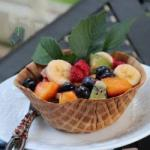 American Fruit Salad In Driveshaft Yoke Dessert