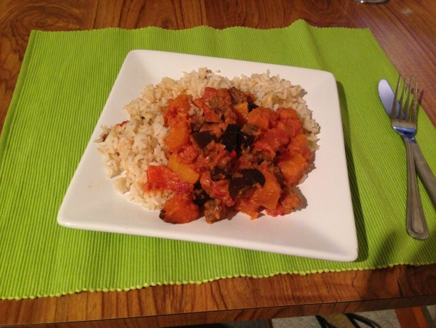 Brazilian Brazilian Vegetable Curry With Spicy Tomato and Coconut Sauce Appetizer