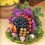Turkish Veggie Turkey Centerpiece Appetizer