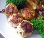 Turkish Cheesy Parmesan Chicken or Turkey Meatballs Appetizer