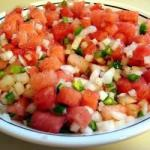 Italian Watermelon Salsa Recipe Appetizer