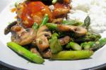 Asian Asparagus With Mushrooms 2 Appetizer