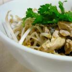 Thai Chicken Poached in Coconut Milk gang Gai Dinner