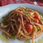 Chilean Linguine with Squid 1 Dinner