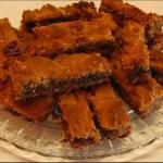 Chocolate-y Peanut Butter Bars recipe