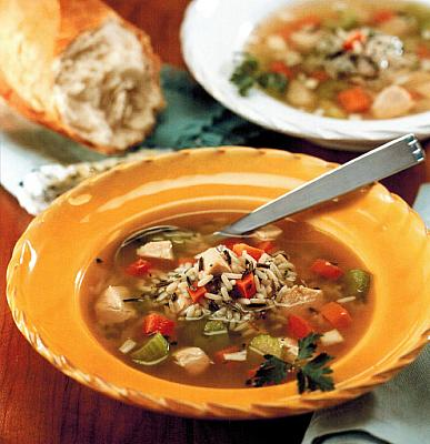 British Chicken and Wild Rice Soup Soup