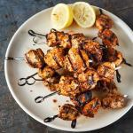 Portuguese Portuguese Style Barbecued Chicken Skewers Appetizer