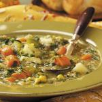 British Spinach Vegetable Soup Appetizer