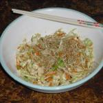Asian Spicey Asian Slaw Breakfast