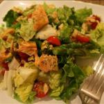 Australian Salmon and Asparagus Salad with Pesto Vinaigrette Appetizer