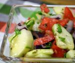 Iranian/Persian Persian Tomato and Cucumber Salad salad Shiraz Appetizer