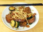 Chinese Chinesestyle Mock Duck With Noodles Appetizer
