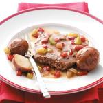 American Round Steak with Potatoes Dinner