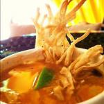 Tortilla Soup with Chicken and Lime  recipe