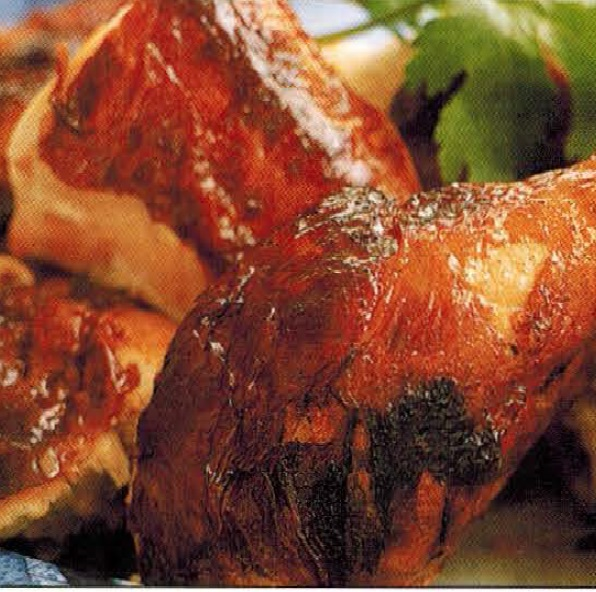 Chinese Crispy-skin Chicken With Five-spice Dipping Salt Dinner