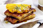 French Coconut French Toast With Caramelised Pineapple Recipe Dessert