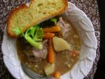Slow Cooker crock Pot Oxtail Barley Soup recipe