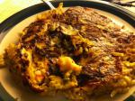 American Shrimp Egg Foo Yong low Carb and Low Fat Dinner