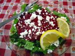 American Roasted Beet and Goat Cheese Salad 2 Dinner