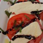 Italian Caprese Heart of Ox Appetizer