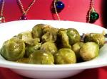 American Baked Sweet  Sour Brussels Sprouts Appetizer