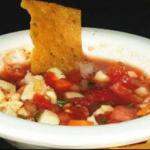 Chilean Yucatan Style Fish Ceviche Breakfast