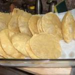 Indian Indian Poori fried Bread Appetizer