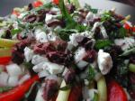 French Tomato Chevre and Green Bean Salad Dinner