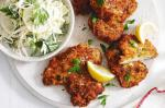 American Herby Schnitzel With Winter Slaw Recipe Dessert