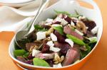 American Baby Beet Lamb And Spinach Salad Recipe Appetizer