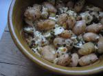 American White Beans With Feta and Breadcrumbs Dinner