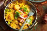Indian Chana Masala With Tomato And Coriander Salad Recipe Dessert