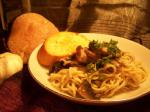 French Linguine With Wild Mushroom Sauce 1 Appetizer