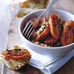 American Tomato Confit with Garlic and Herbs Appetizer