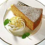 American Potato Almond Cake Dinner