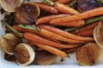 Canadian Balsamic Roasted Carrots And Baby Onions Recipe Appetizer