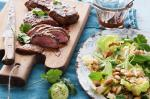 Moroccan Lamb Backstraps With Moroccan Salad Recipe Dinner