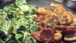 American Southwestern Caesar Salad with Chipotle Dressing Appetizer
