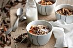 American Chocolate Muesli With Warm Milk Recipe Dessert