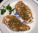 American Herb Crusted Chicken Breasts Dinner