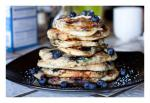 Georgian Blueberry Banana Pancakes Dessert
