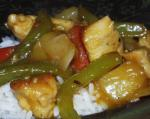 American Sweet  Sour Chicken 3 Dinner
