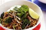 American Minced Beef And Black Bean Noodles Recipe Appetizer